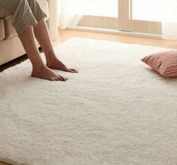 carpet floor. Free Shipping Super Soft Solid Color RICE White Carpet/Floor Rug/ Living Room Carpet/Area Rug Bathroom Carpet-in Carpet From Home \u0026 Garden On Aliexpress.com Floor
