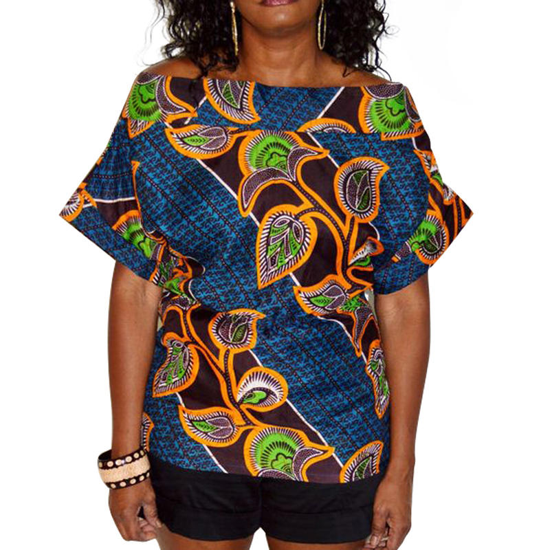 2018 New African Women's Clothes, Batik Cloth Sewing