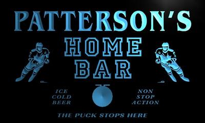 x1087-tm Pattersons Home Bar Penalty Box Custom Personalized Name Neon Sign Wholesale Dropshipping On/Off Switch 7 Colors DHL