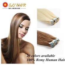 18″20″22″24″ 100% Natural Human Hair 7A Remy Tape Hair Tape Virgin Human Hair Extension 50g/lot  Optional Tape In Human Hair