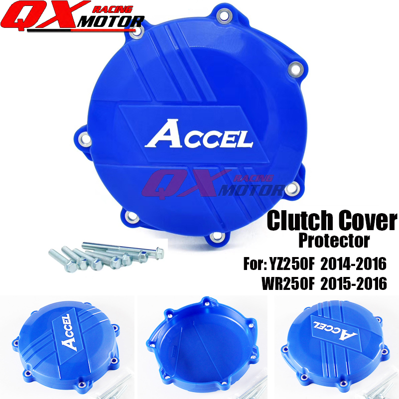 Motorcycle Plastic Clutch Protector Cover Protection Cover For YZ250F 2014-2016 WR250F 2015-2016 Motocross Endupro free shipping