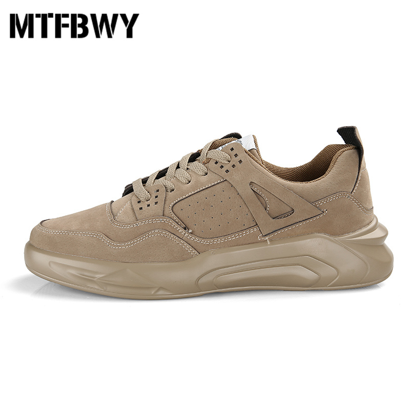 Men sneakers outdoor walking shoes lace-up PU men board shoes new autumn size 39-44 h301s