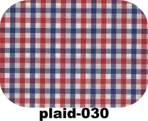 Image 2 - 100% 코튼 블루 레드 화이트 깅엄 드레스 셔츠 맞춤 제작, 맞춤형 드레스 셔츠, 남성용 체크 무늬 무늬 셔츠