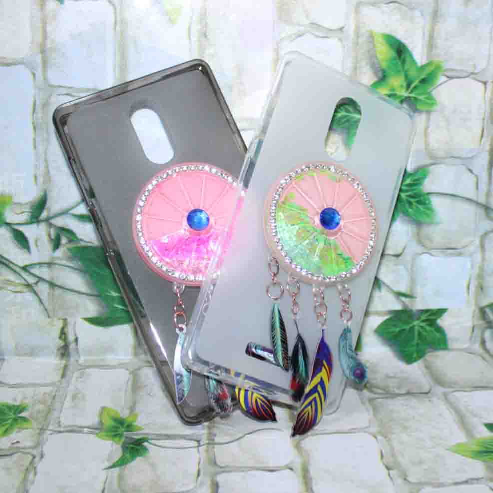 Glitter Quicksand Cover Case For Qmobiles