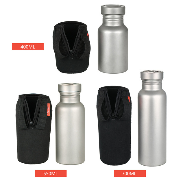 400//550//700ml Water Bottle Insulated Cover Carrier Bag Pouch Cycle Camping Sport