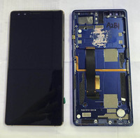 M Sen For ZTE Nubia Z17S NX595J Lcd Screen Display Touch Panel Digitizer With Frame Gold