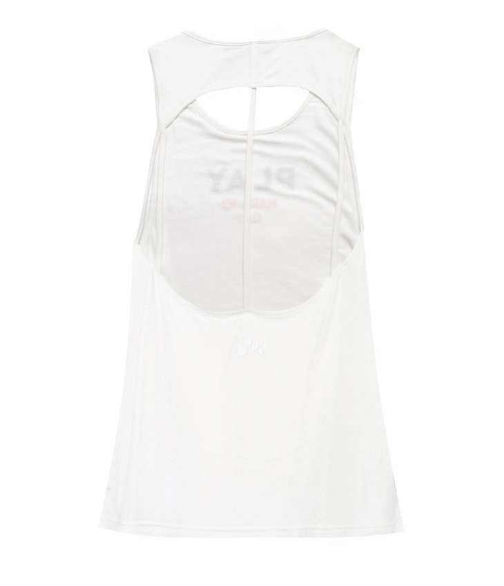 ONLY PLAY Letter Print Backless Singlet | 118103506 12