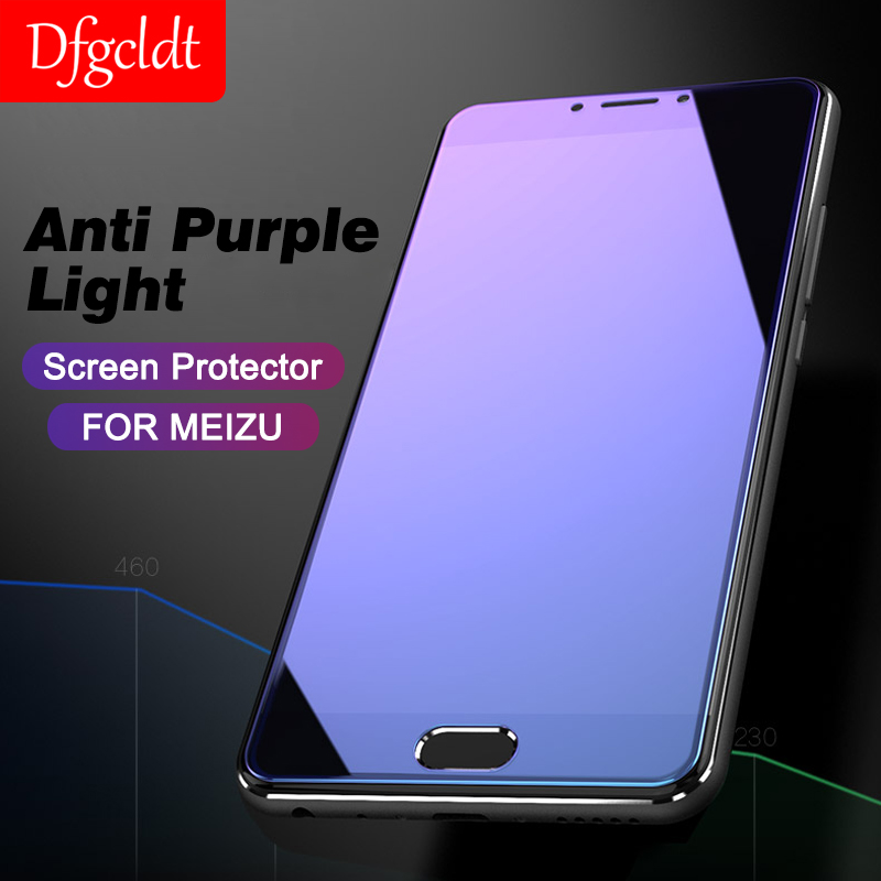 Anti-blue Light Protective Glass For Meizu M6 Note M6S 15 M15 Screen Protector Glass On The For Meizu Pro 7 Plus Tempered Glass