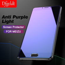 Anti-blue Light Protective Glass for Meizu M6 Note M6S 15 M15 Screen Protector Glass On The for Meizu Pro 7 Plus Tempered Glass(China)