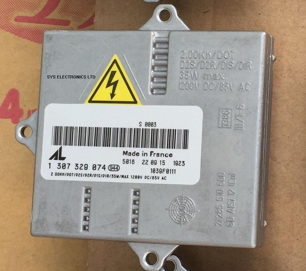 Used AL Xenon Ballast OEM HID 1 307 329 074 1307329074