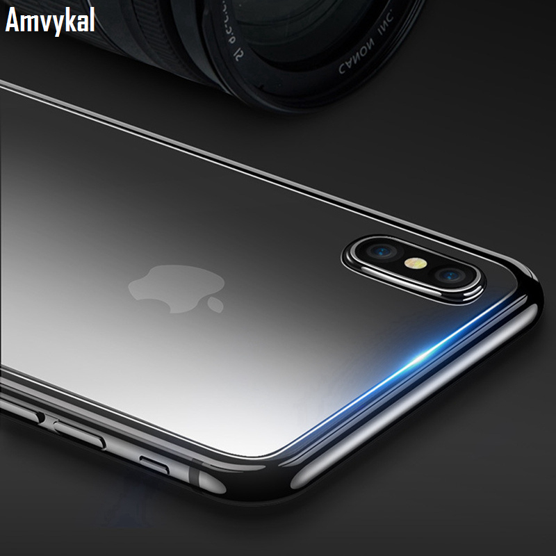 Amvykal For Iphone X Xs Xr Xs Max 5 5s Se 6 6s 7 8 Plus Tempered Glass Screen Protector 2.5d Tempered Glass Film With Retail Box Phone Screen Protectors Mobile Phone Accessories