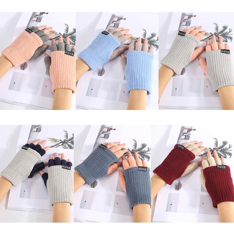 BONJEAN 6 colors Short Half Finger gloves Fingerless double s