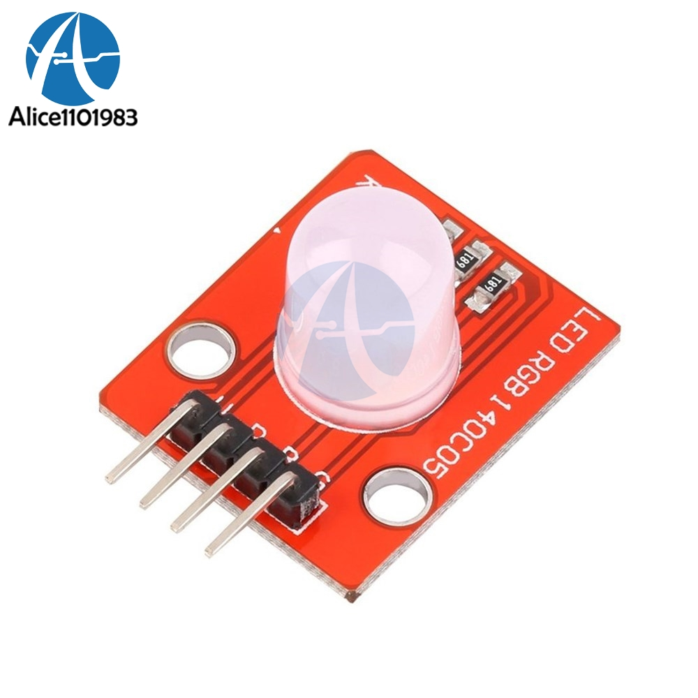 10MM RGB LED Board 5V for Arduino Raspberry Pi Prototyping STM32