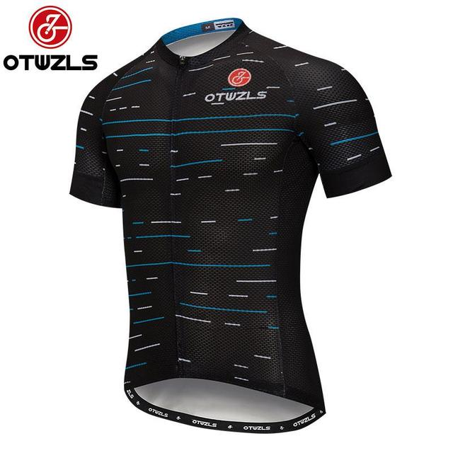 9d7eb3d0e OTWZLS cycling jersey bike shirt men maillot ciclismo motocross clothing  biking clothes jerseys Stripes pattern short