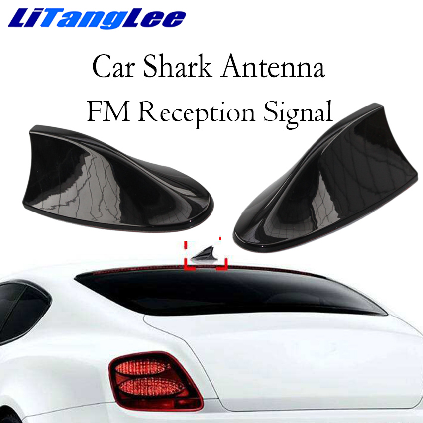 Litanglee For Peugeot 308 508 108 301 107 408 207 407 206 Car Shark Fin Antenna Car Styling Car Roof FM Signal Car Radio Aerials