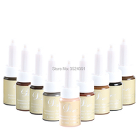 Permanent Makeup eyebrow Pigment For Tattoo eyebrow microblding pigment Inks makeup products Coffee Color microblading ink