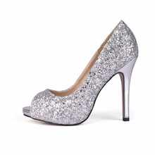 2019 Women Zapatos De Mujer Open Peep Toe Bling Thin High Heels Ladies Sexy Dress Prom Wedding Shoes Party Shoes For Woman T3 недорго, оригинальная цена
