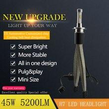45w 5200lm LED Headlight Bulbs H1 H3 H4 H7 H8 H9 H11 9005 HB3 9006 HB4 D1S D2S D3S D4S D1R D2R D3R D4R 3000K 4300K 6000k 8000K
