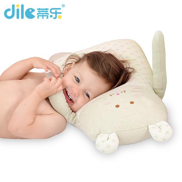 Macio Apaziguar Bebê Travesseiro travesseiros de dormir do bebê do algodão Do Bebê Berço Cama Dobrável Bebê Almofada Do Assento de Carro