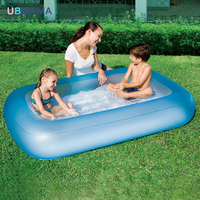 Rectangular pool Inflatable Swimming Pool Portable Outdoor Children Bathtub Piscina Bebe Zwembad PVC Waterproof Bath Tub