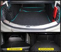 Full Rear Trunk Tray Liner Cargo Mat Floor Protector foot pad mats for 13 17 Cadillac XTS 2013 2014 2015 2016 2017 (6colors) EMS
