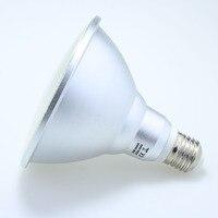 1 X Led E27 su geçirmez cam Par38 15 W sel ışık Par38 15 W SMD 2835 AC220V/230 V/240 V