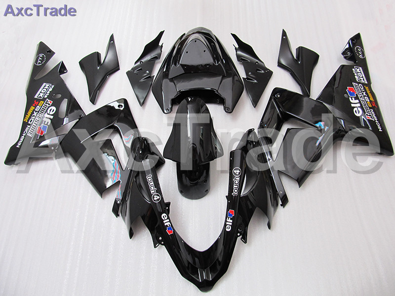 Custom Made Motorcycle Fairing Kit For Kawasaki Ninja ZX10R ZX-10R 2004 2005 04 05 ABS Fairings fairing-kit Injection Molding