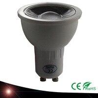 100X Ultra Bright 5 W 220 V GU10 LED Bulbs COB GU10 Spotlights CE / RoHS led lamp Hot / Cold White