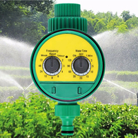 Automatic Water Timer Multi function Two Dial Garden Water Device Autimatic Waterning Controller Irrigation Sprinkler 3|Garden Water Timers| |  -
