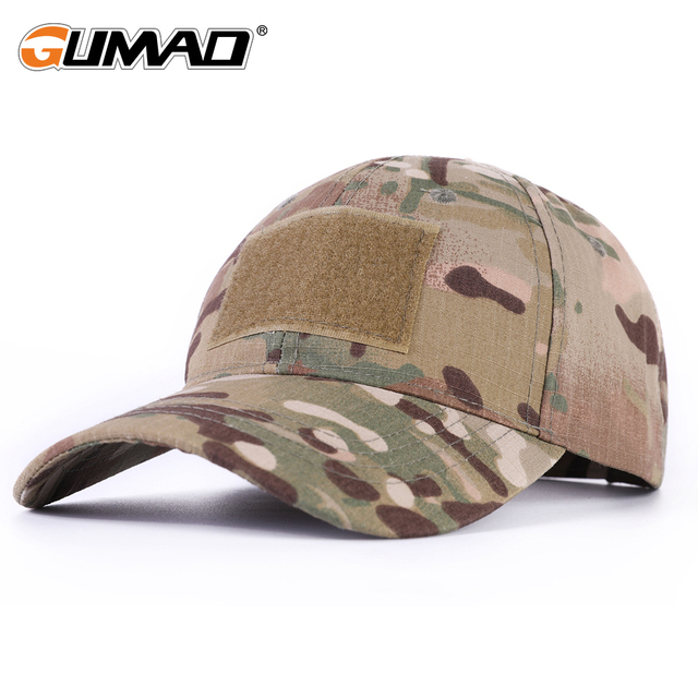 1d84c17d2c69ec Outdoor Multicam Camouflage Adjustable Cap Mesh Tactical Military Army  Airsoft Fishing Hunting Hiking Basketball Snapback Hat