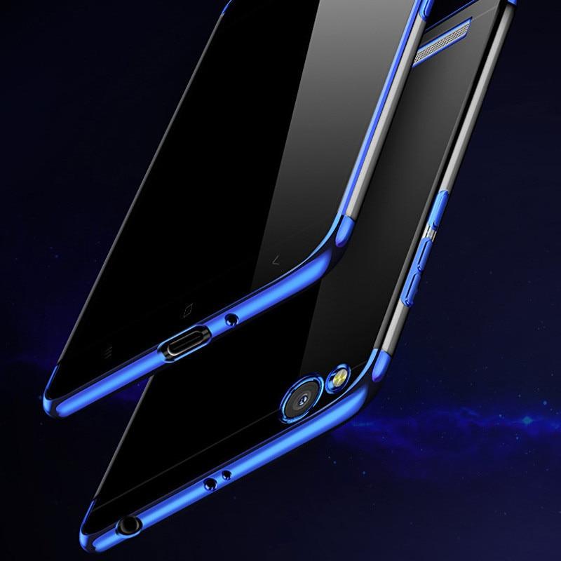 SRHE For Xiaomi Redmi 4A Case Cover Silicone Plating Soft TPU Back Cover For Xiaomi Redmi 4A Redmi4A Case