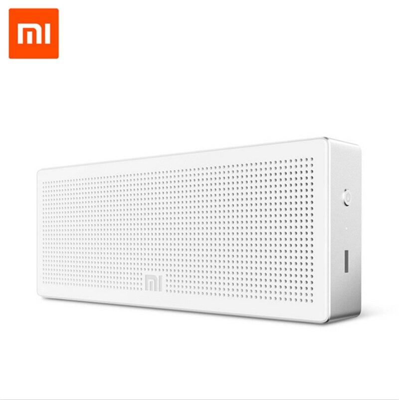 Оригинал Xiaomi Mi Bluetooth Speaker Портативный Беспроводной Мини Квадрат Динамик для IPhone и Android Телефоны