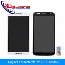 Nueva Pantalla LCD Táctil Digitalizador Asamblea con Marco de Reemplazo Para el Motorola MOTO X + 1X2 XT1095 XT1092 XT1097 XT1096 + Regalo