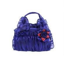Bud silk Female Bag Oriental style Floral Handbag Cosplay Lady Vintage Sweet Temperament Joker Package For Women Leisure
