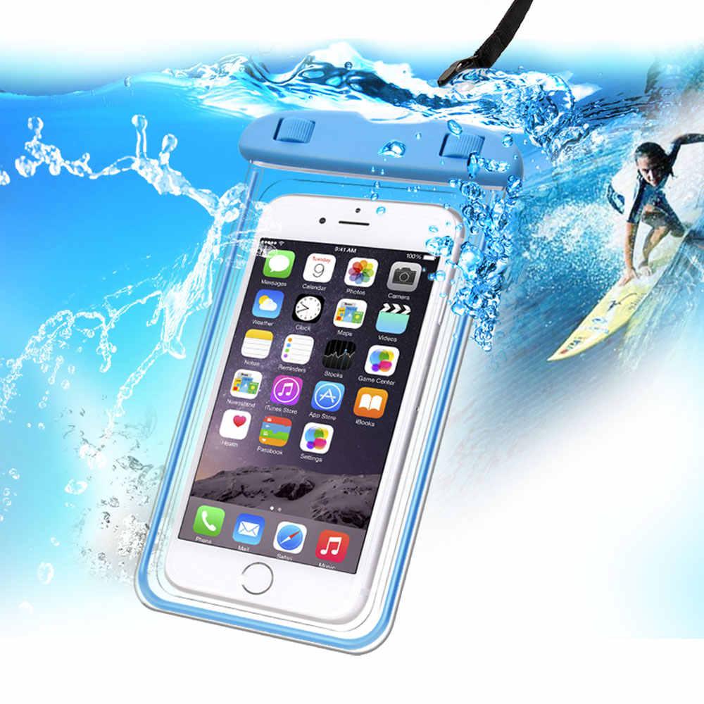 TOMKAS Универсальный Водонепроницаемый Чехол для iPhone X 8 7 6 s Plus чехол водонепроницаемый чехол для телефона Coque водонепроницаемый чехол для телефона