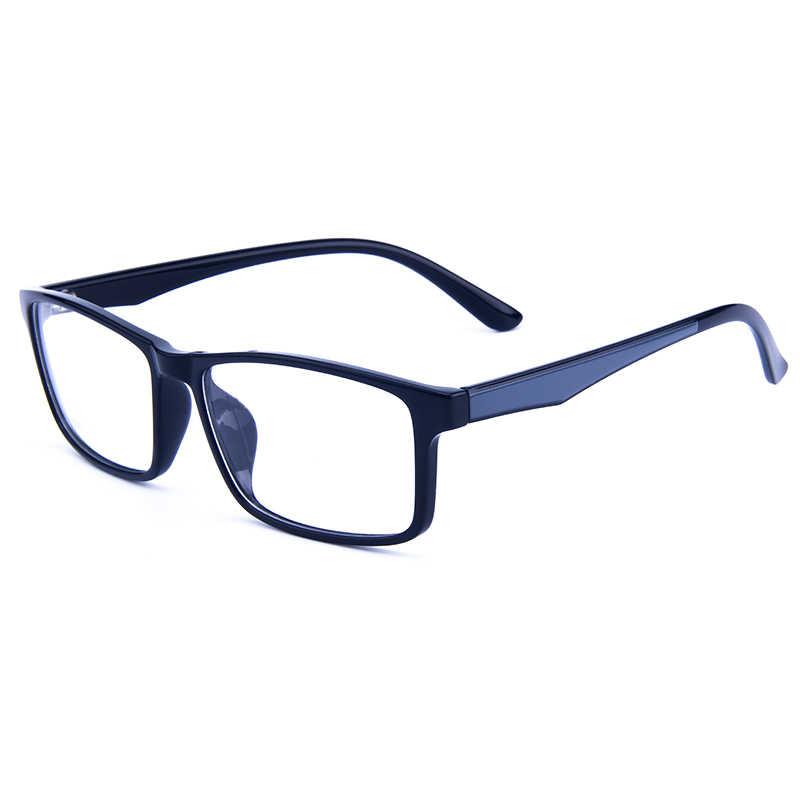 Gmei optyczne prostokątne Ultralight TR90 biznes mężczyźni okulary rama okulary korekcyjne ramki kobiety pełna obręczy okulary G6087