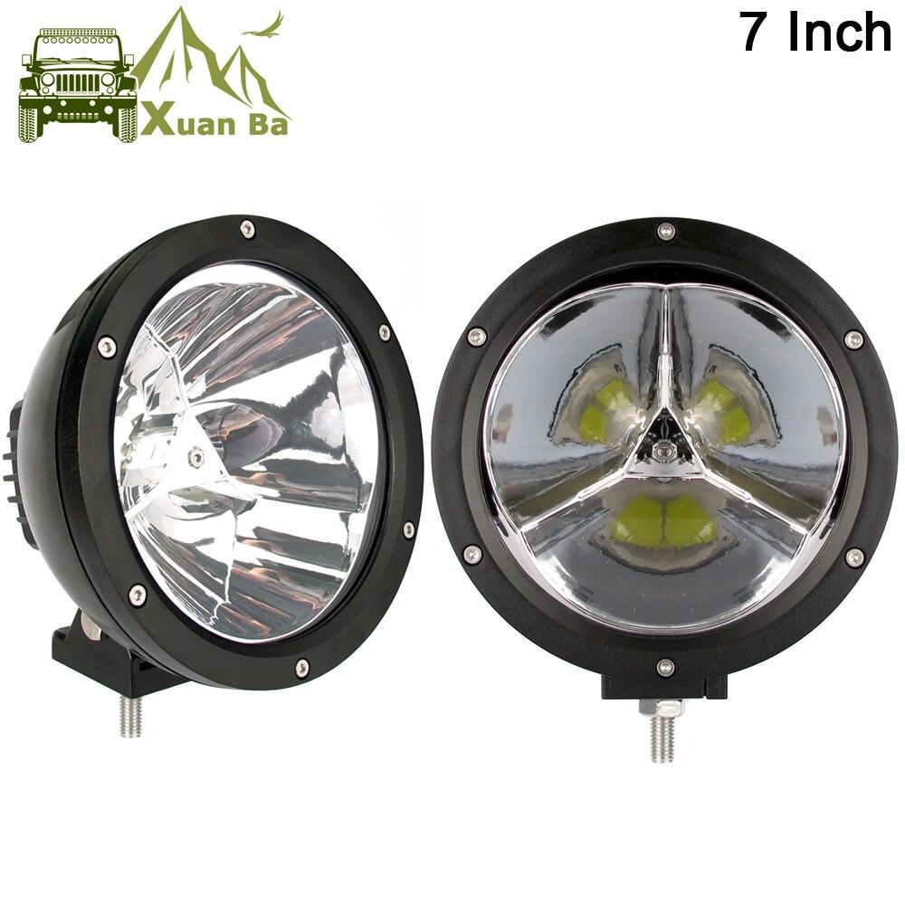 4 x 18W LED work Light Lamp 12V Flood Beam 24V Round Trailer Offroad 4X4 SUV