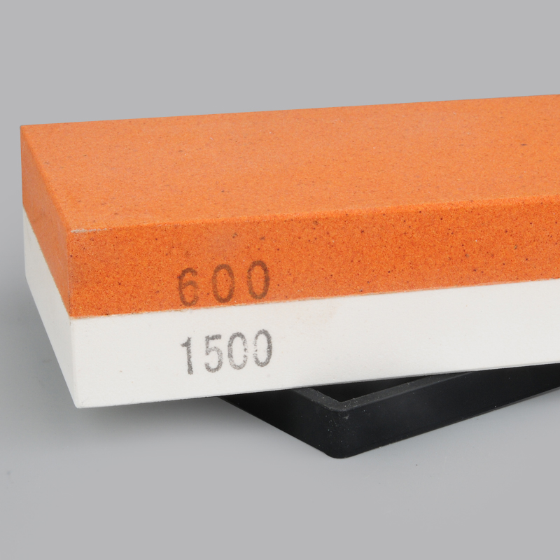 1PCS 600/1500# corase double whetstone professional knife sharpener honing blade sharpening knife stone kitchen tools oilstone