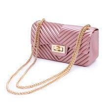 High Quality Women's Fashion Chain Bag PVC Shoulder Bags Crossbody Handbag Ladies Messenger Bags for Women Luxury Handbags недорго, оригинальная цена