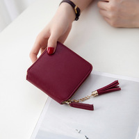 Female Short Clutch Lady Wallet Women S Purse 2017 Fashion PU Leather Wallets Womens Money Card