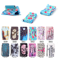 For Iphone 4s Case Wallet Cases Luxury Book Style PU Leather Flip Cover ShockProof Bags With