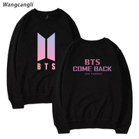 WANGCANGLI LOVE YOURSELF BTS Bangtan Boys Sweatshirt Hip Hop Winter Sweatshirt Women 2017 Kpop Fans Female