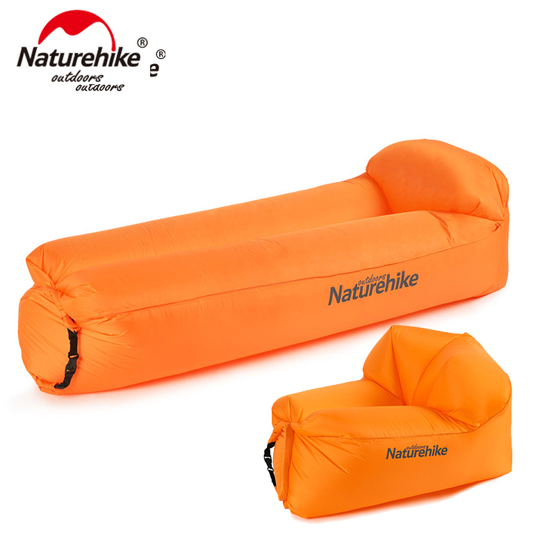 Naturehike Outdoor Portable Waterproof Inflatable Air Sofa Camping Beach Sofa Foldable Lounger NH18S030 S