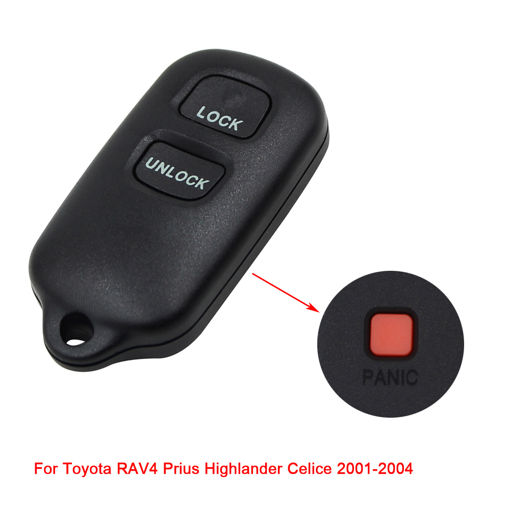 New Replacement for Ford Keyless Alarm Remote Shell Pad Key Fob Case 3 Button
