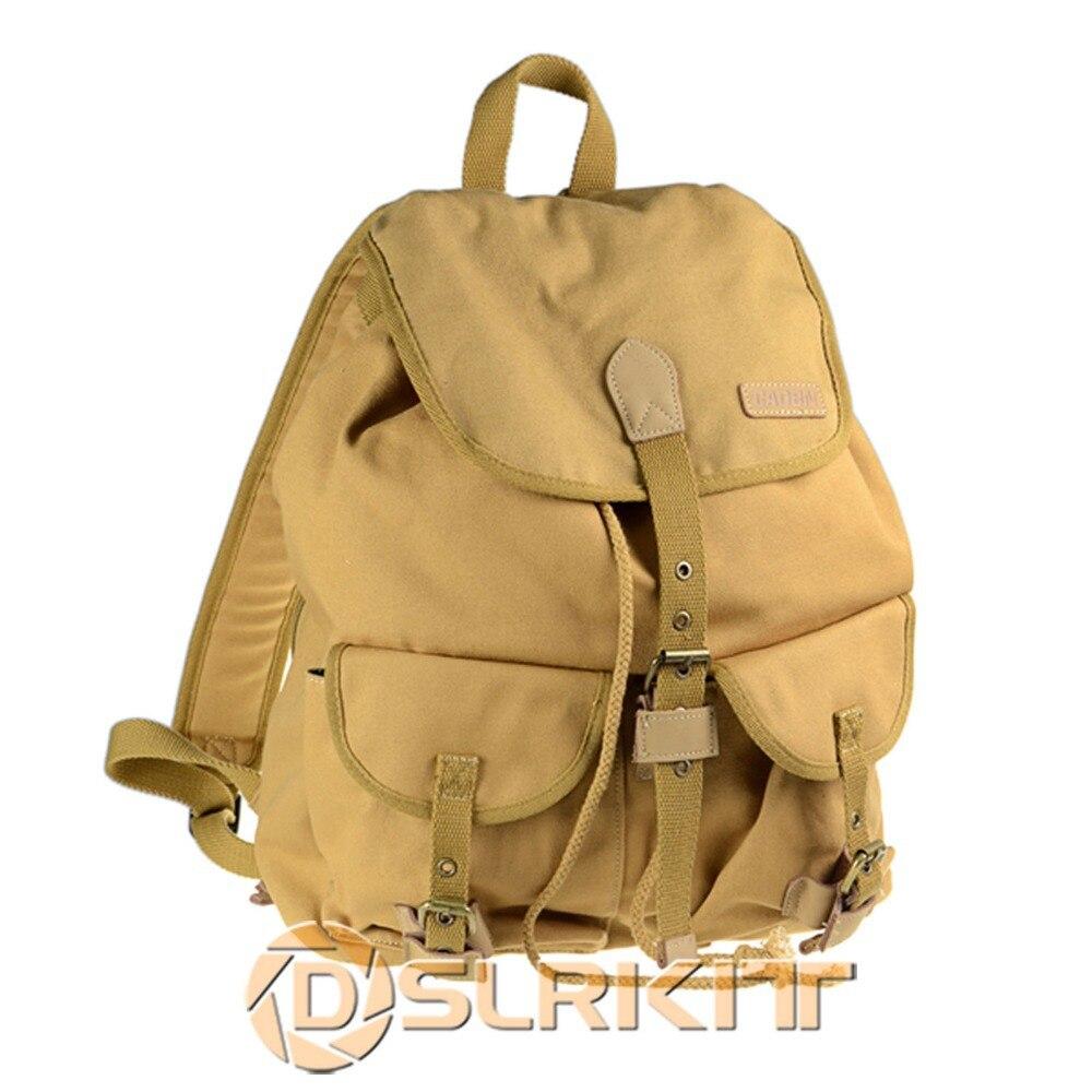 ФОТО CADEN F15 Photography Camera DSLR Canvas Shoulder Bag Backpack