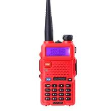 100% original baofeng UV 5R walkie talkie dual band 136-174/400-470mhz 5W power 1800mAh battery radio uv5r baofeng radio amador
