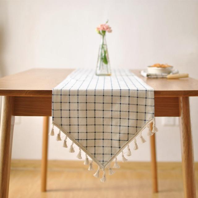 chemin de table esprit vintage