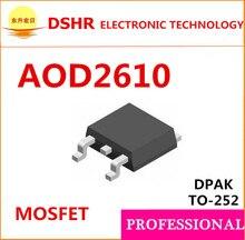 Smd TO252 100 pçs/lote D2610 2610 60 V 46A AOD2610 N-Canal de dados pdf dentro de alta qualidade