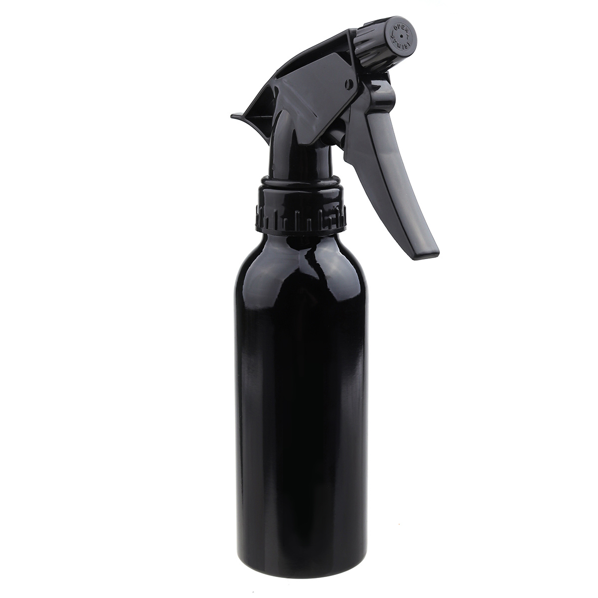 1pc 30 50 100 120 150 250ml Aluminum Bottle Mice Spray Fine Good Hair 200ml Refill Black Matte Salon Bottles Barber Cutting Atomizer Empty Water Sprayer Hairstyling Hairdressing