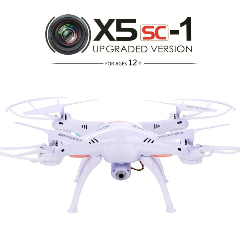 rc drone X5SC-1 2.4G 6 Axis Headless Mode GYRO with 2.0MP HD Camera RC Quadcopter RTF RC Helicopter 360 Graden Eversie best gift